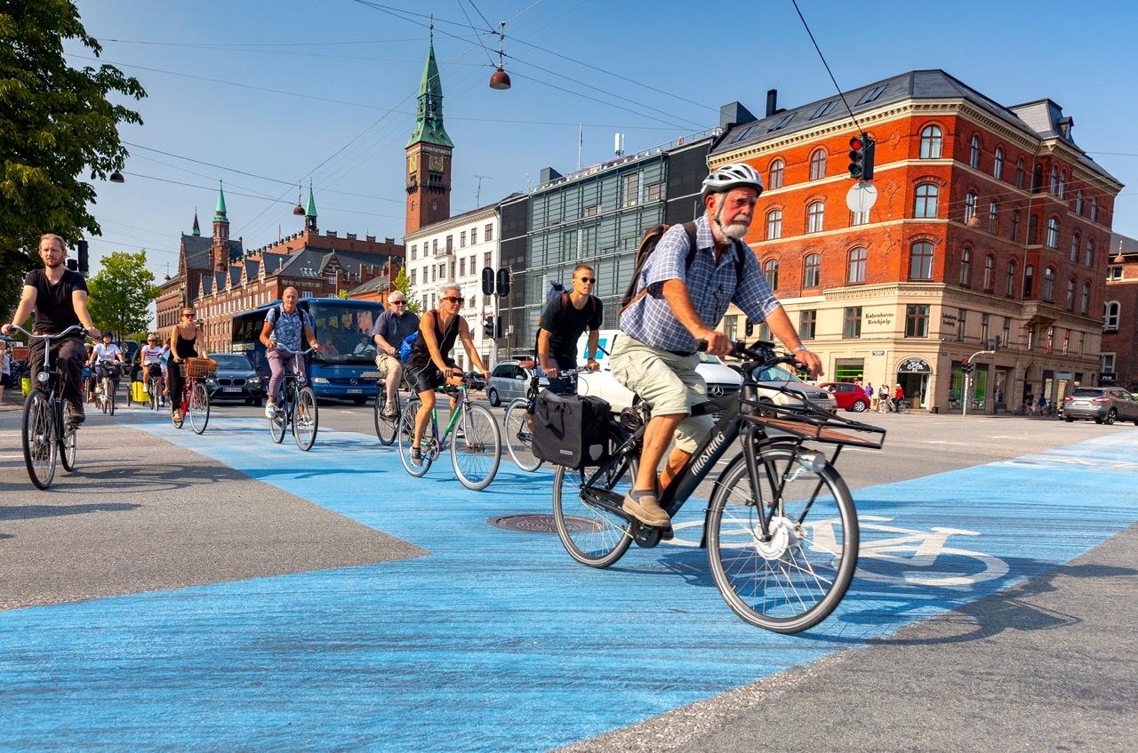 Copenhagen best city for biking and cycling