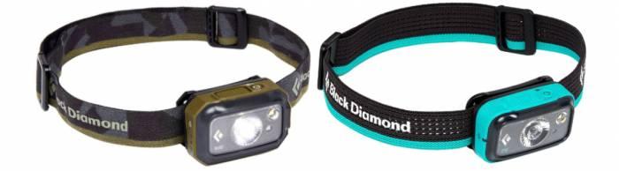 Black Diamond Revolt and Spot 350 Headlamps