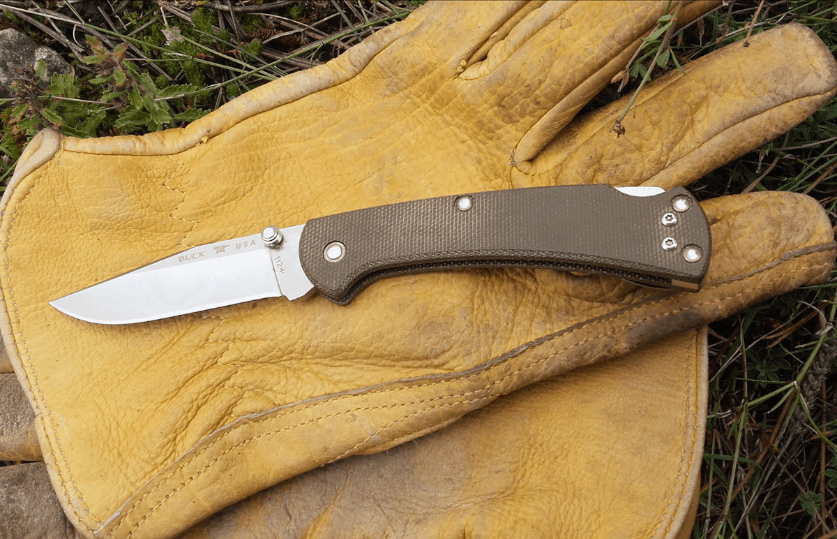Blade HQ Buck 112 Slim Pro Knife