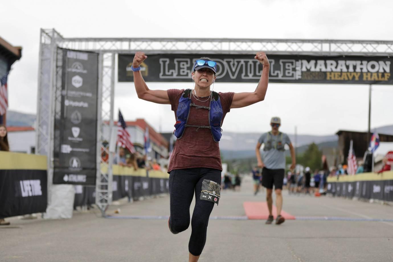 Leadville Heavy Half Marathon finisher