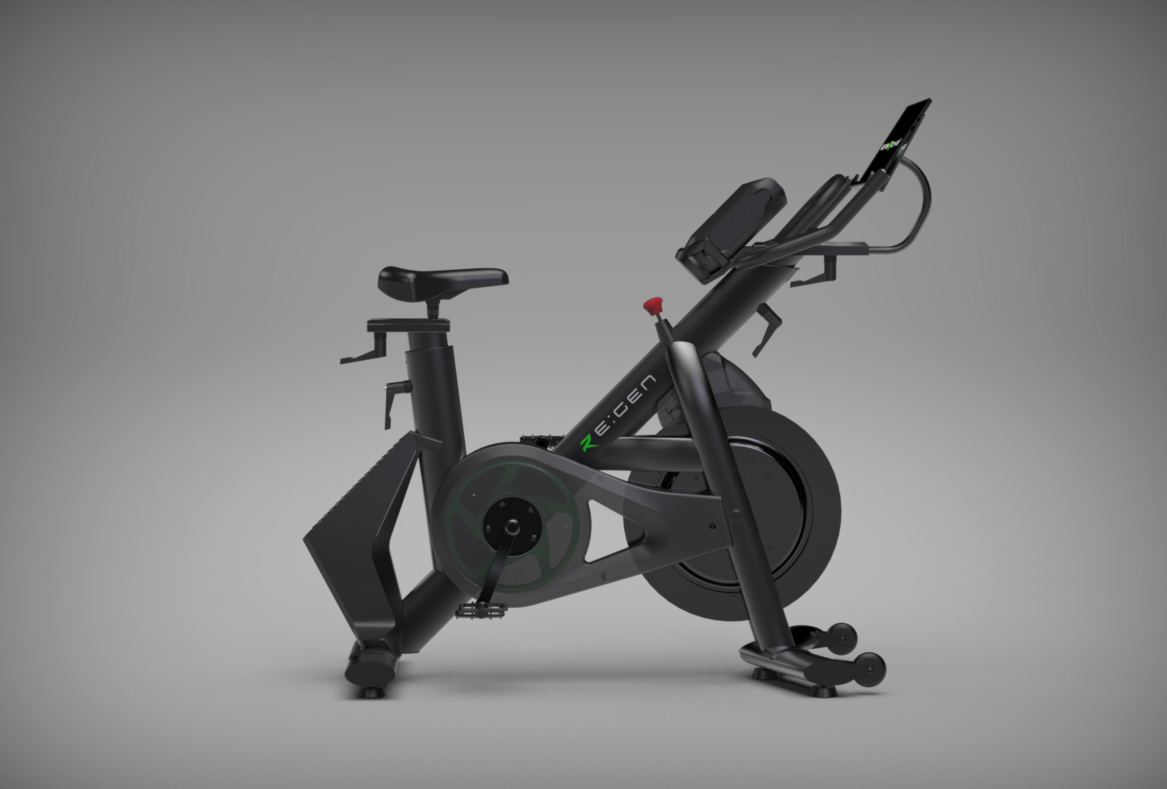RE:GEN electric-generating bike trainer