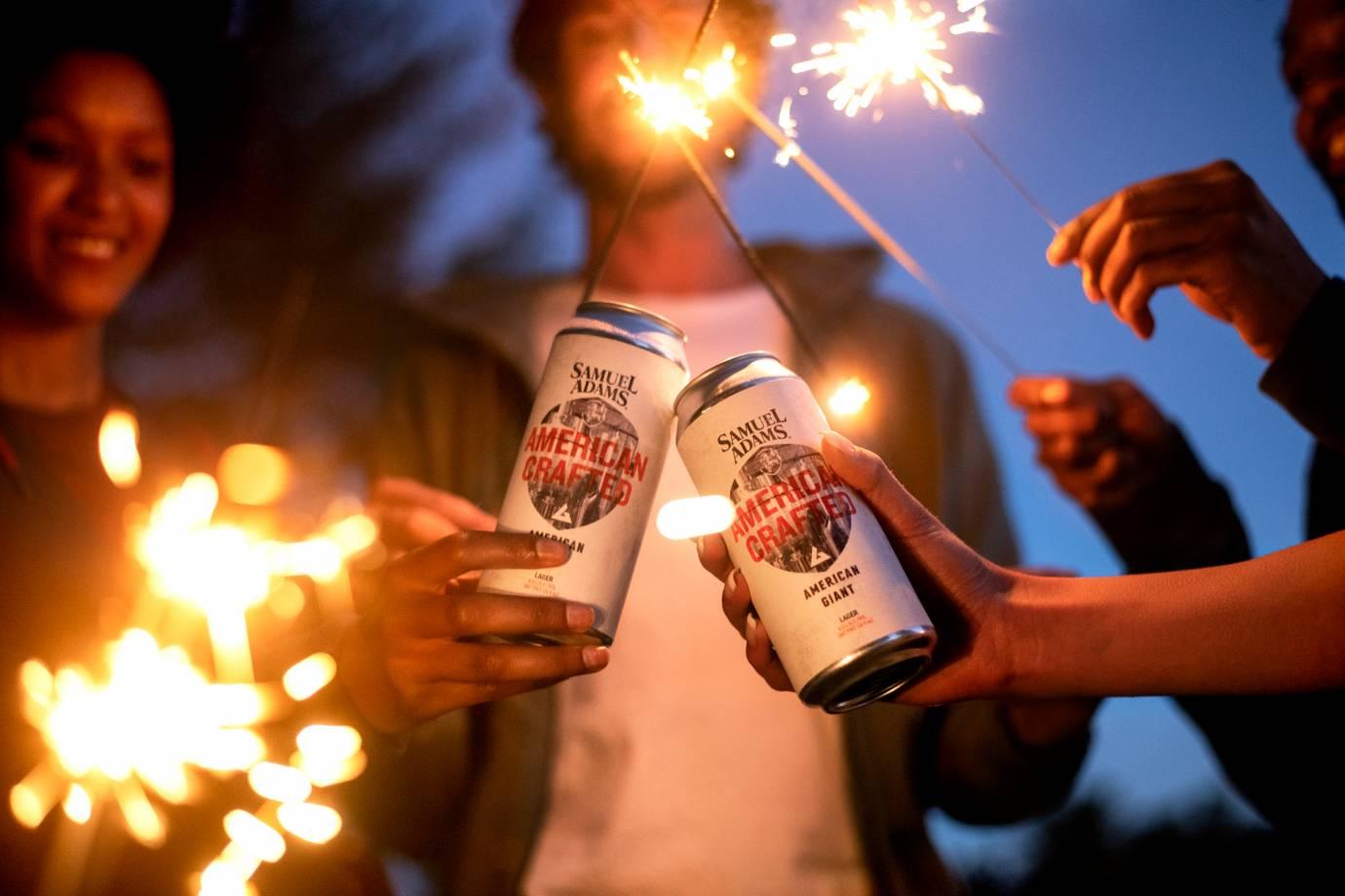 American Giant x Samuel Adams gear beer collab