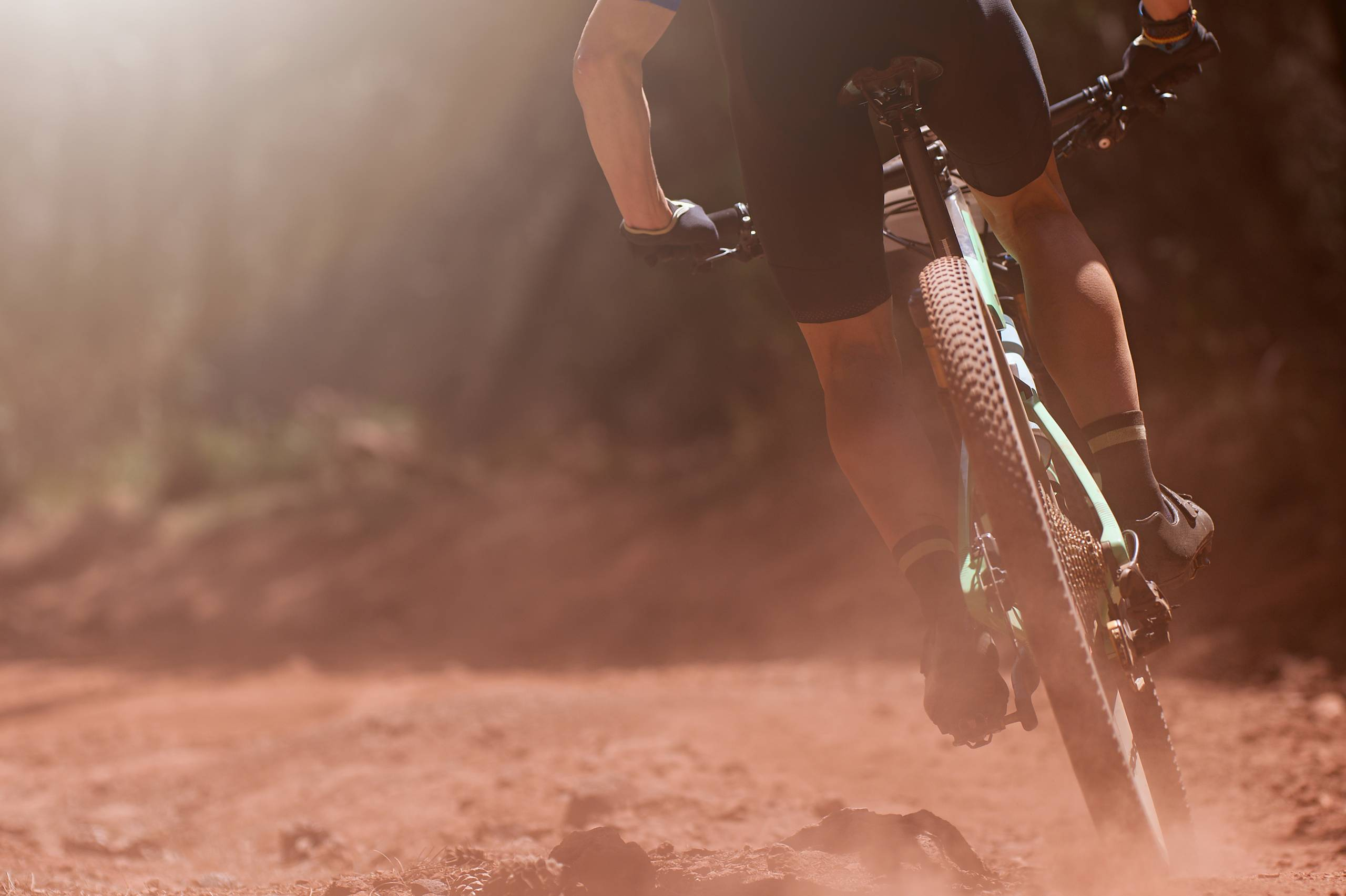 mountain biking right of way