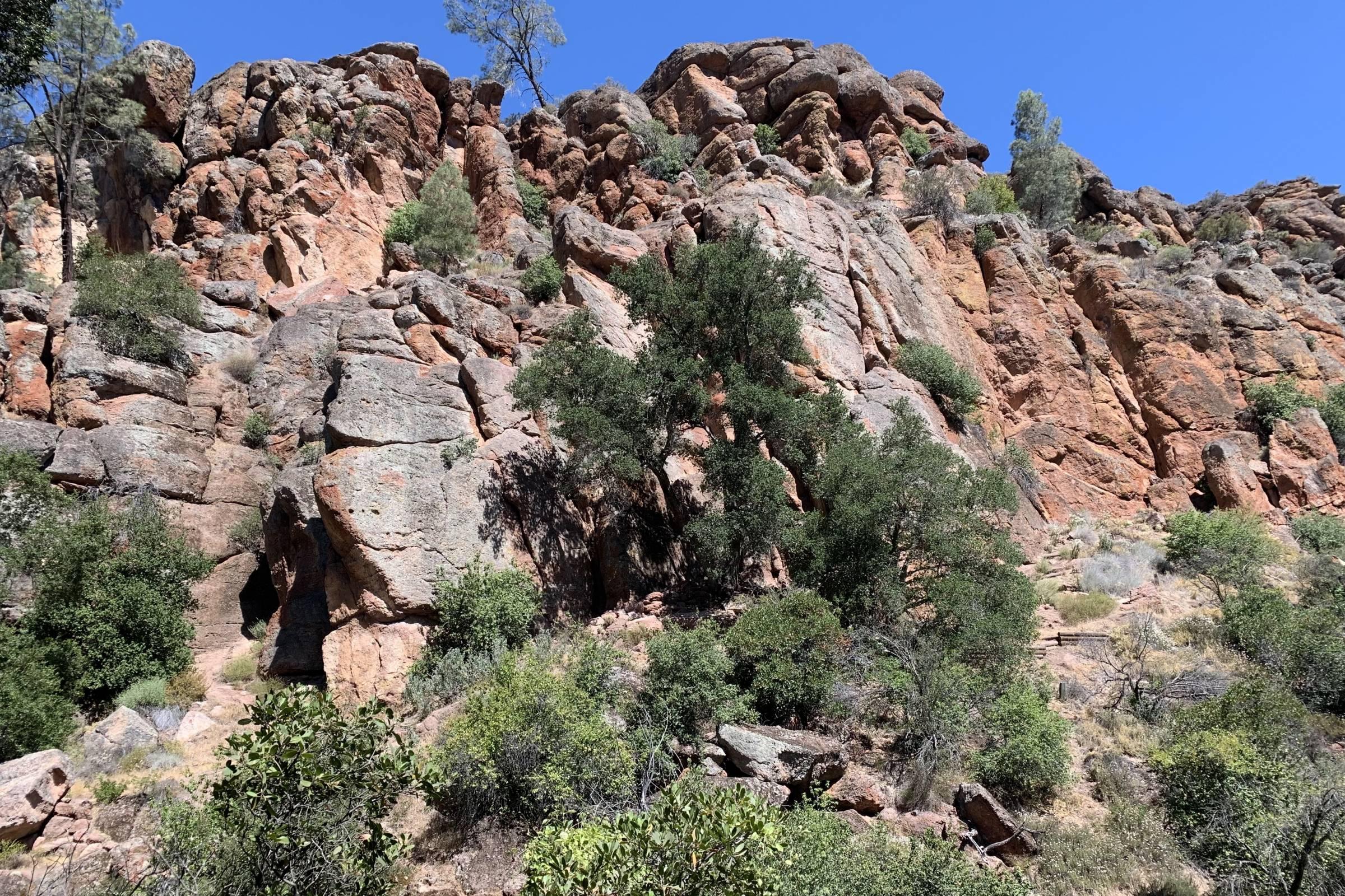 pinnacle rocks at pinnacles national park