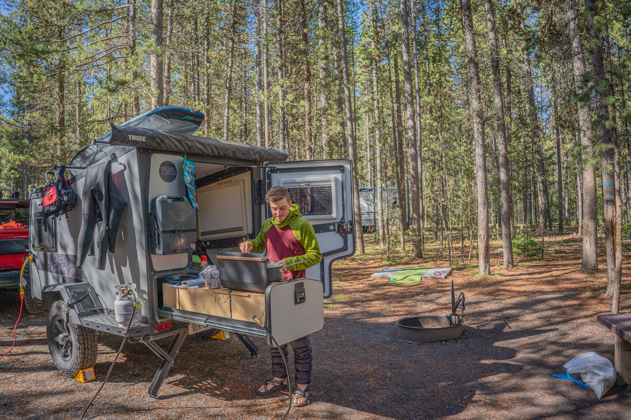 taxa outdoors tigermoth overland - Kitchen