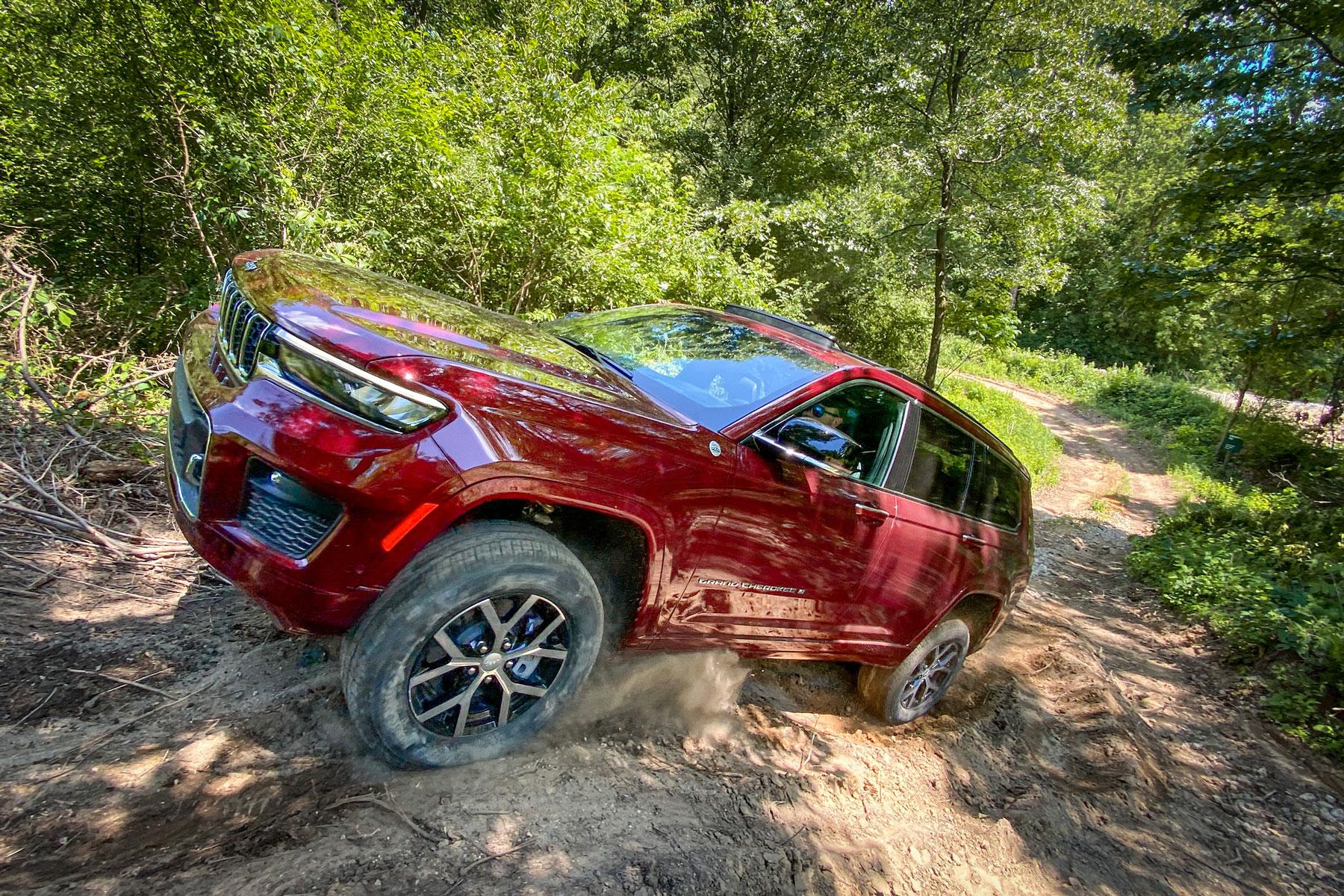 testing 2021 jeep grand cherokee l