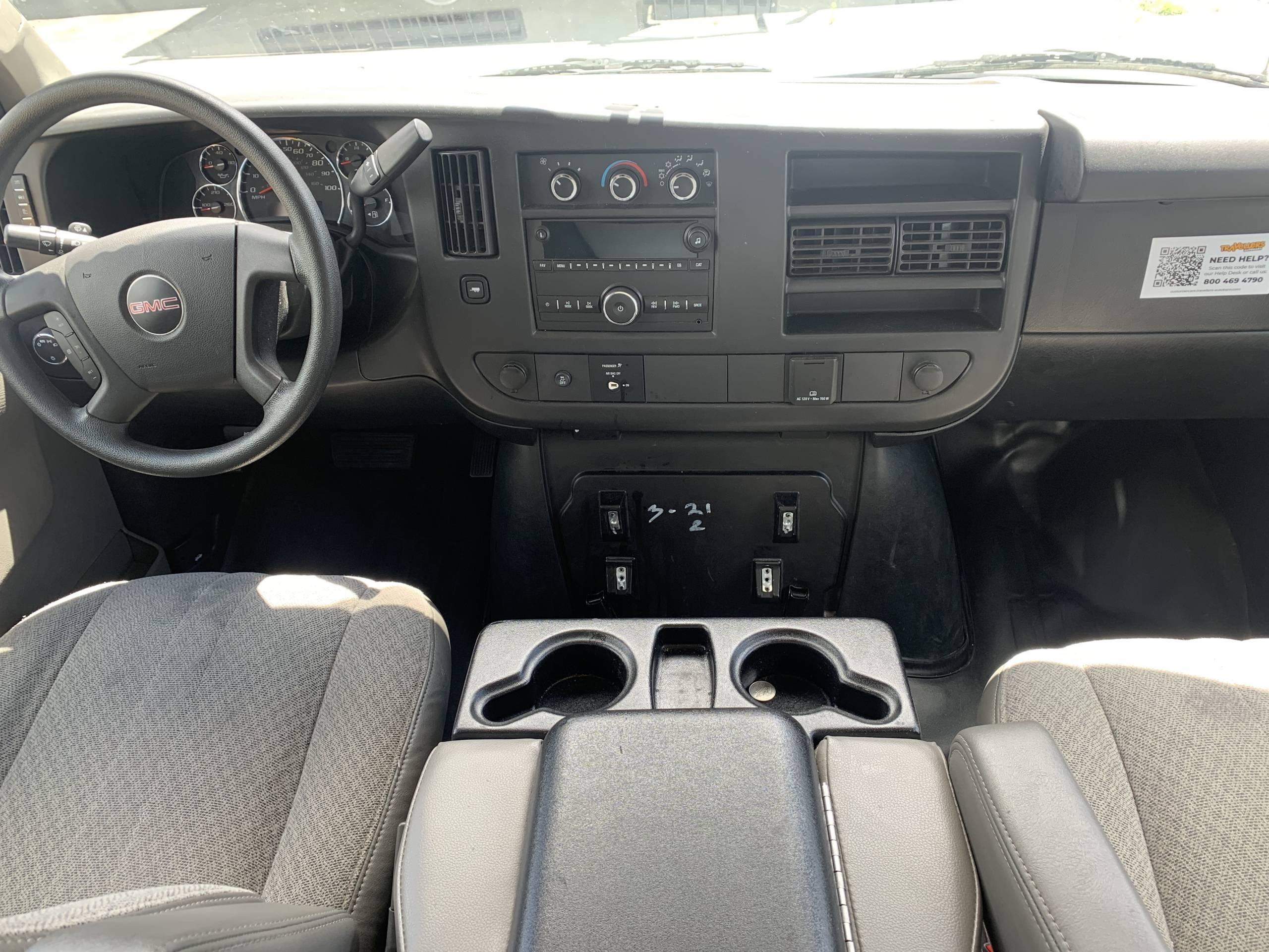 van cockpit