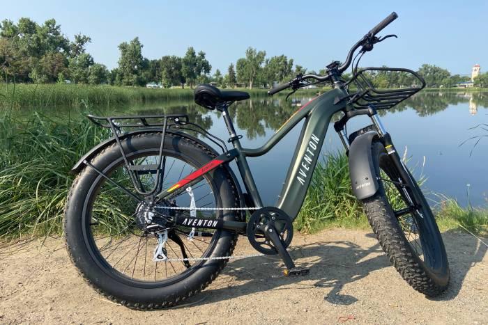 Avelon Aventure E Bike parked