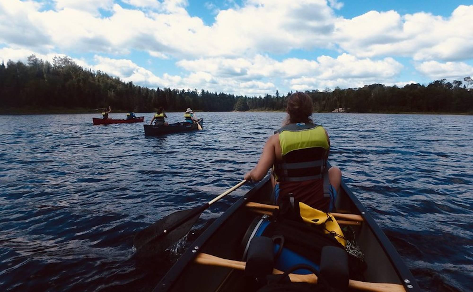 Big City Mountaineers programming kayaking