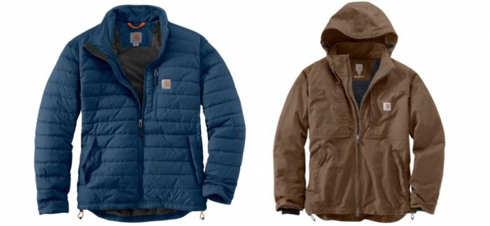 Carhartt Gilliam Insulated and Full Swing Cryder Jackets