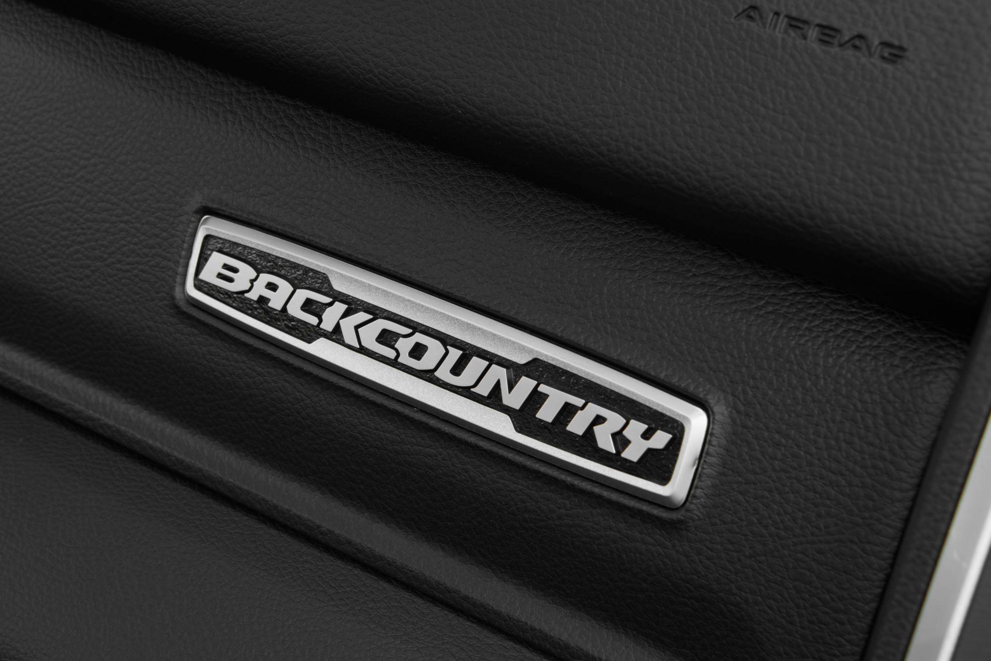 2022 Ram 1500 BackCountry badge