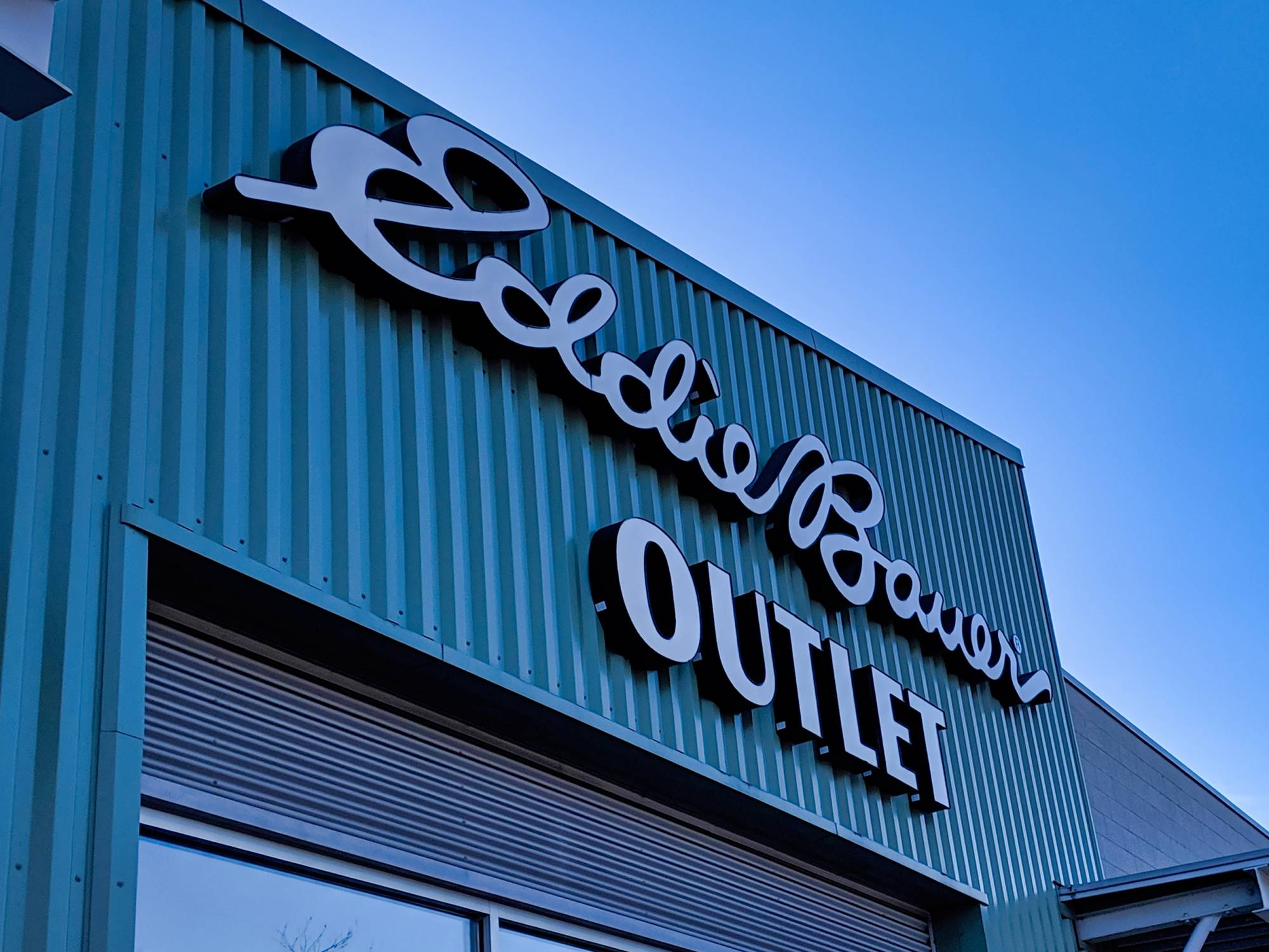 EB Outlet store front