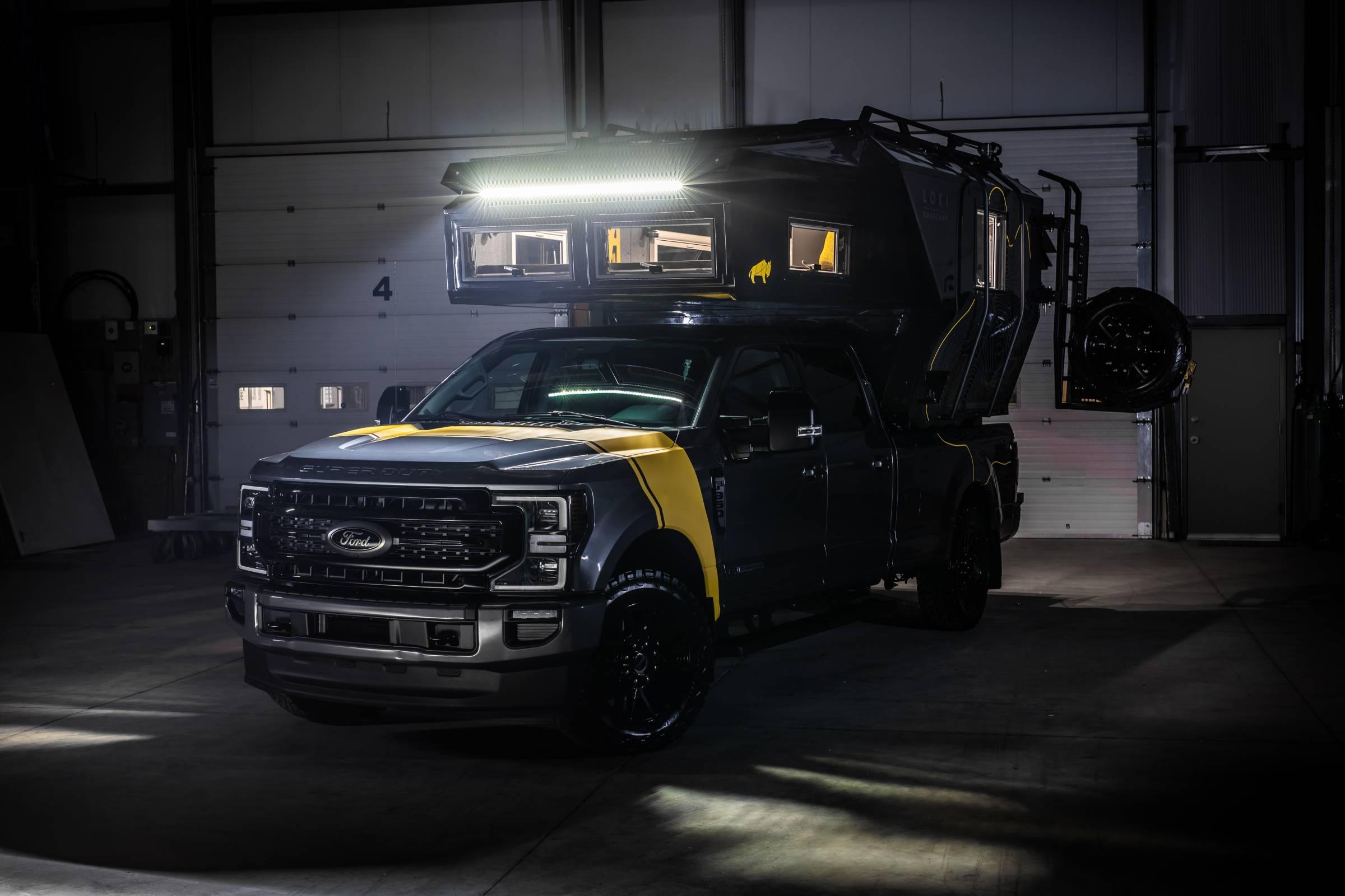 Loki Basecamp truck-mounted Falcon Series trailer