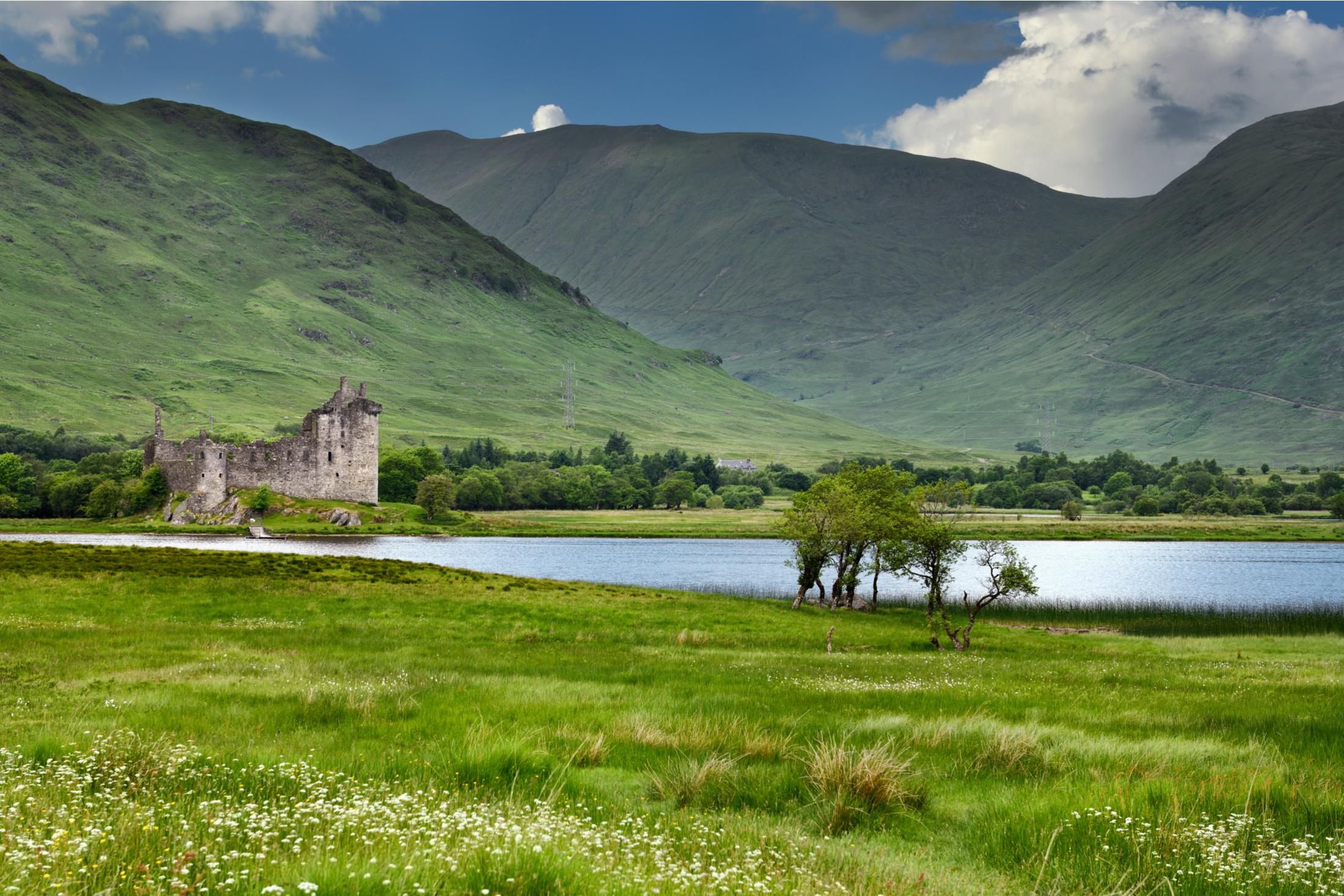 Loch Awe Dalmally Scotland UK