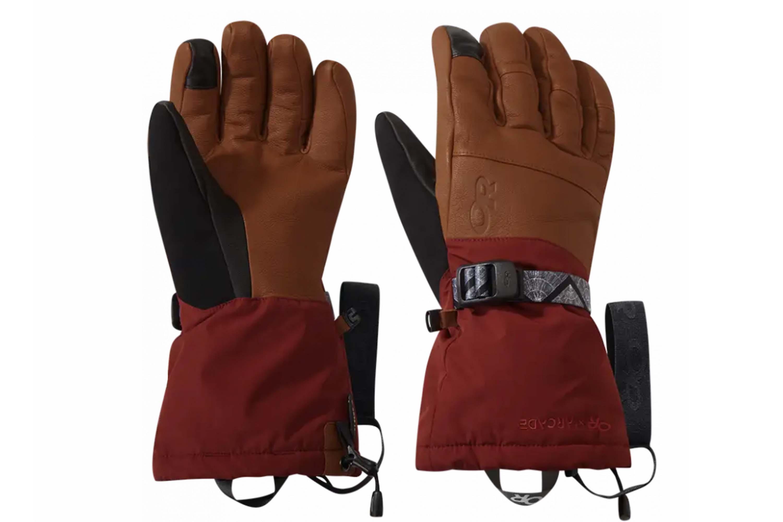 Outdoor Research carbide sensor gloves