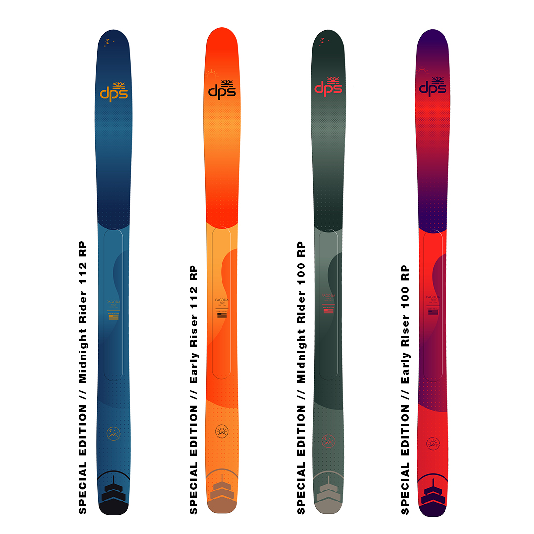 dps pagoda special edition tour skis will launch during dreamtime event
