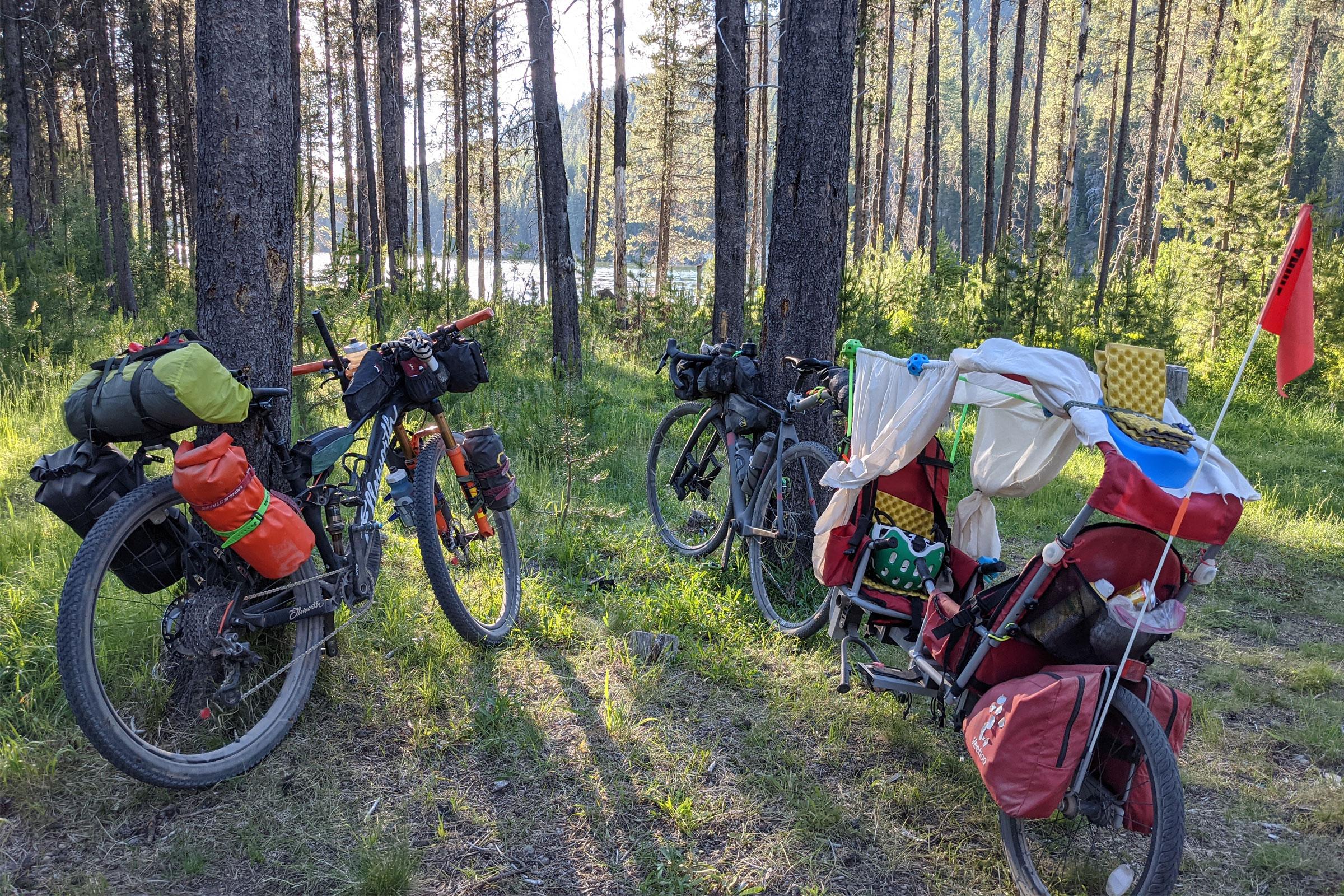 aeroe spider bike rack - gearing up