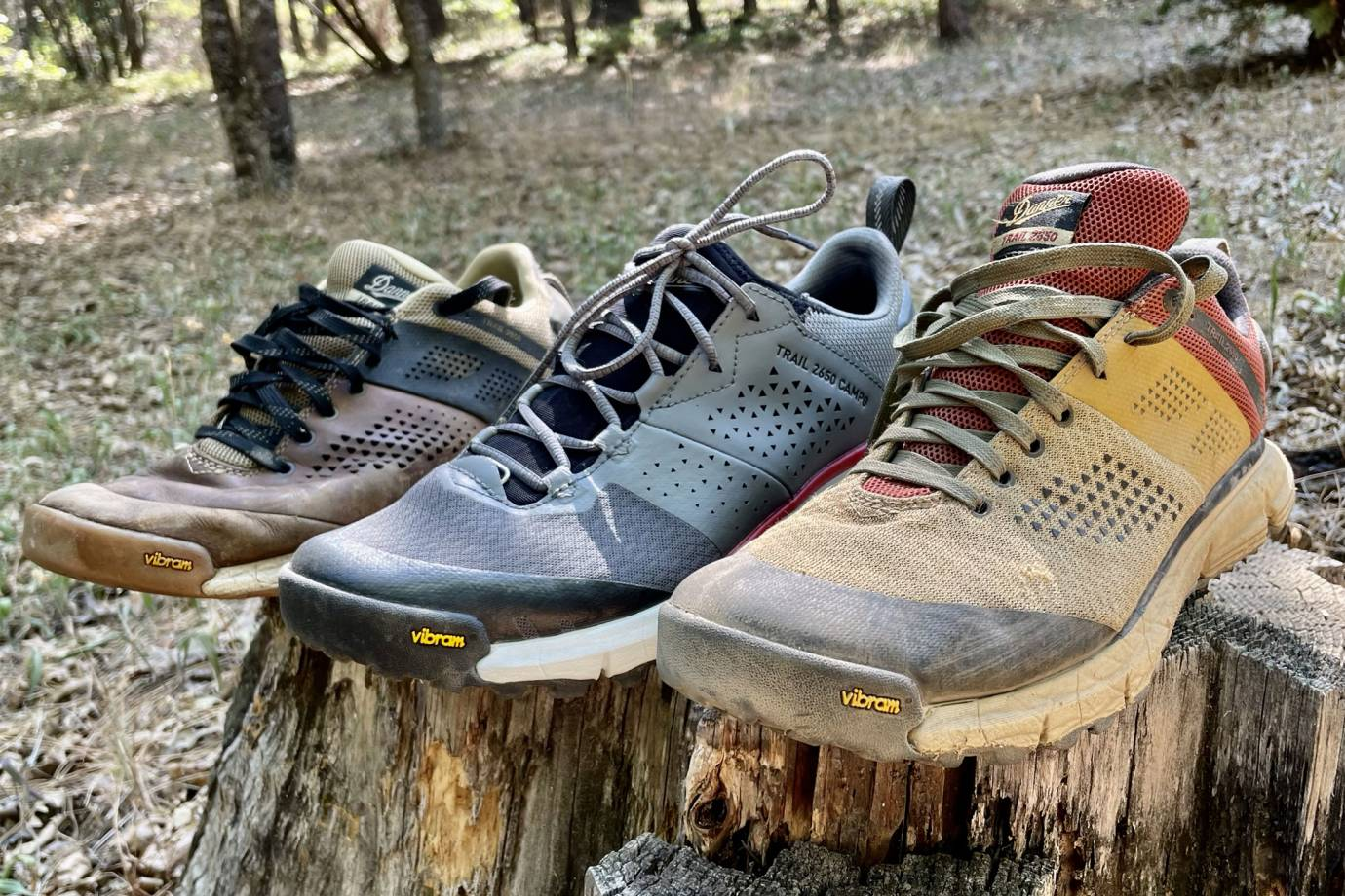 danner 2650 mesh and campo