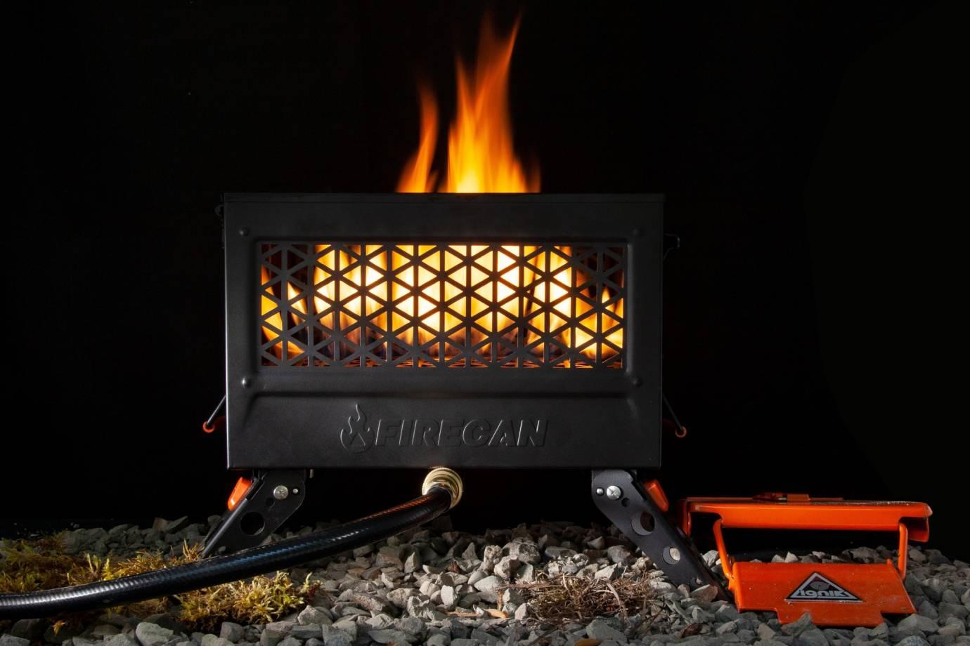 ignik firecan propane firepit