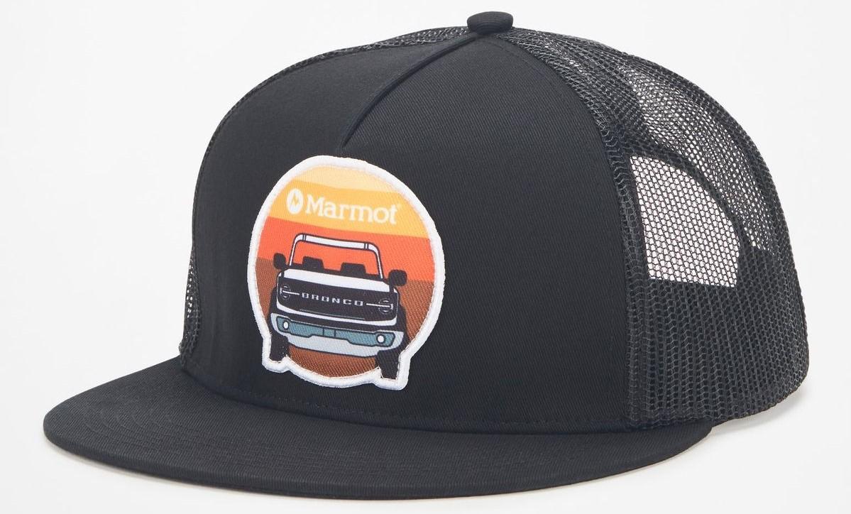 marmot x bronco collab hat
