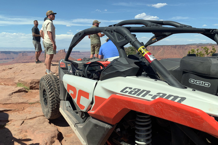 BRP Chief of Adventure: Can Am