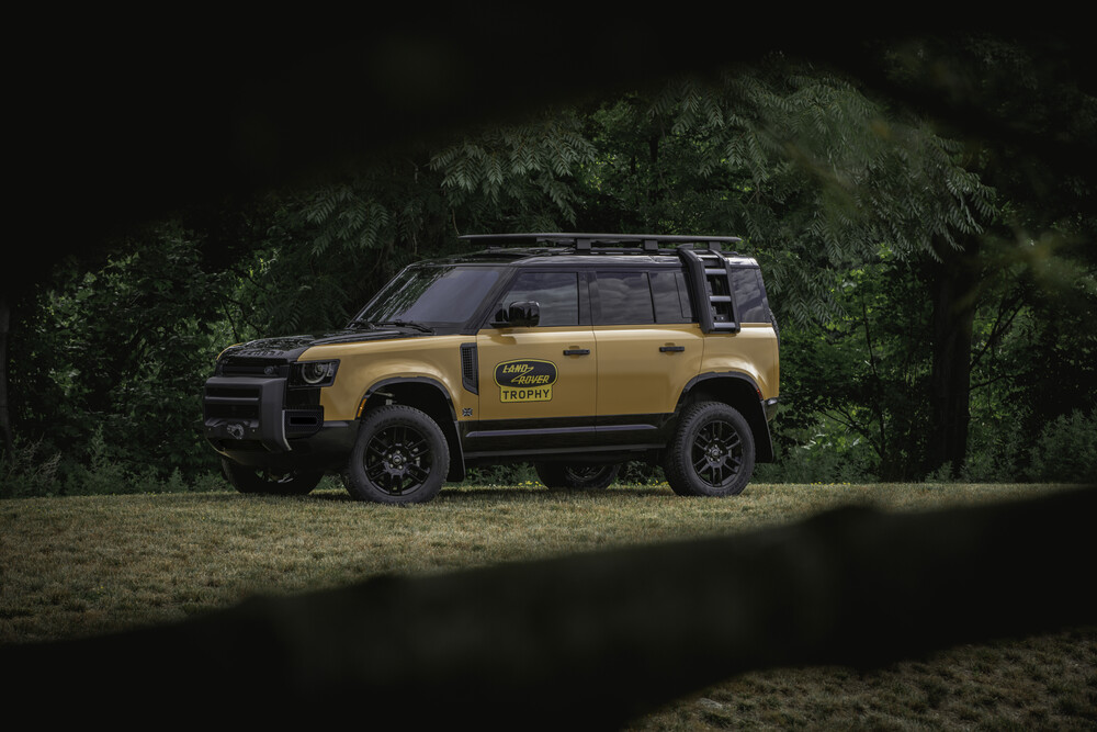 Trophy Edition Defender with optional Winch installed