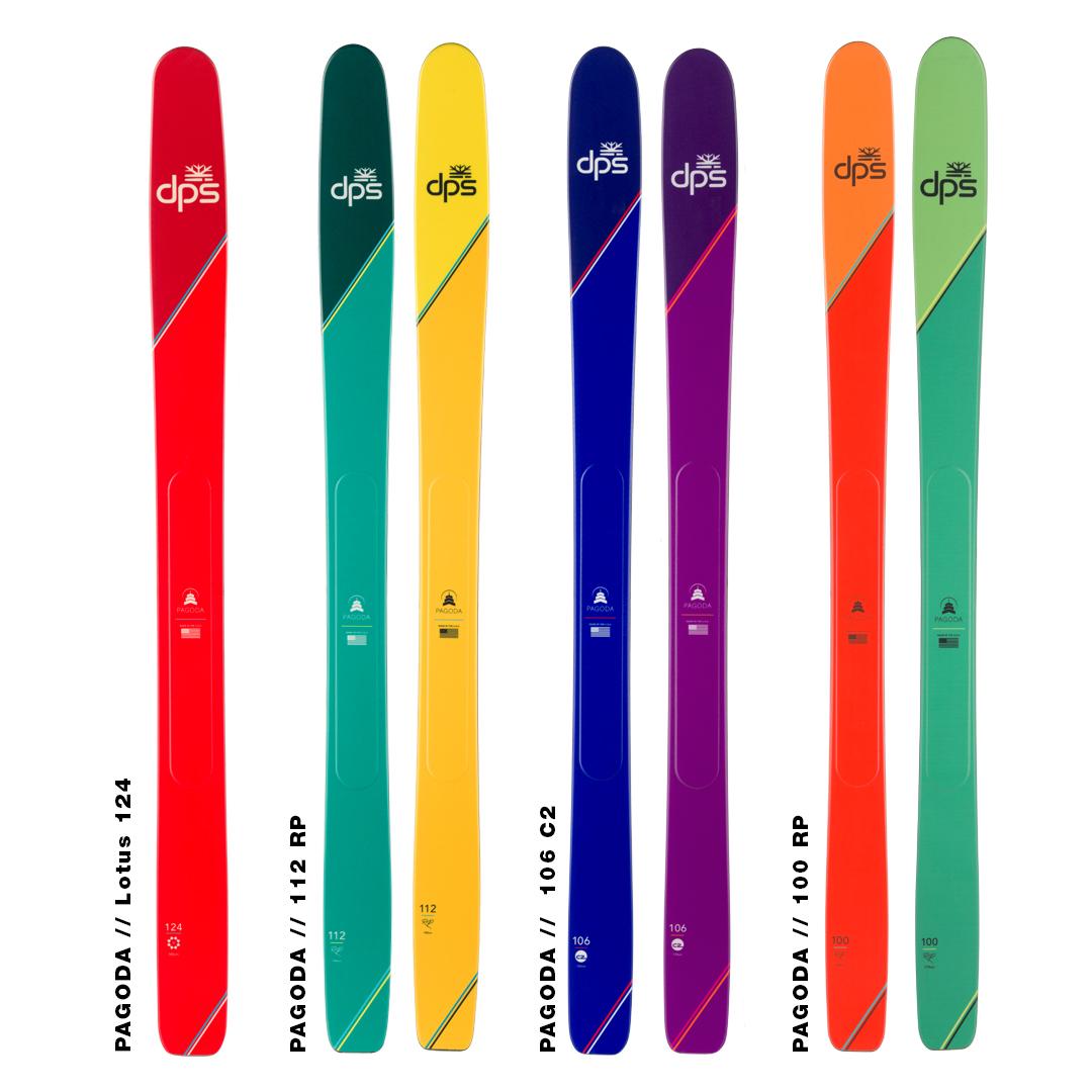 pagoda skis