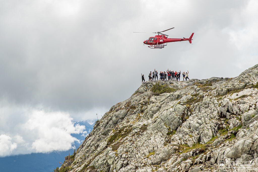 pinkbike helicopter