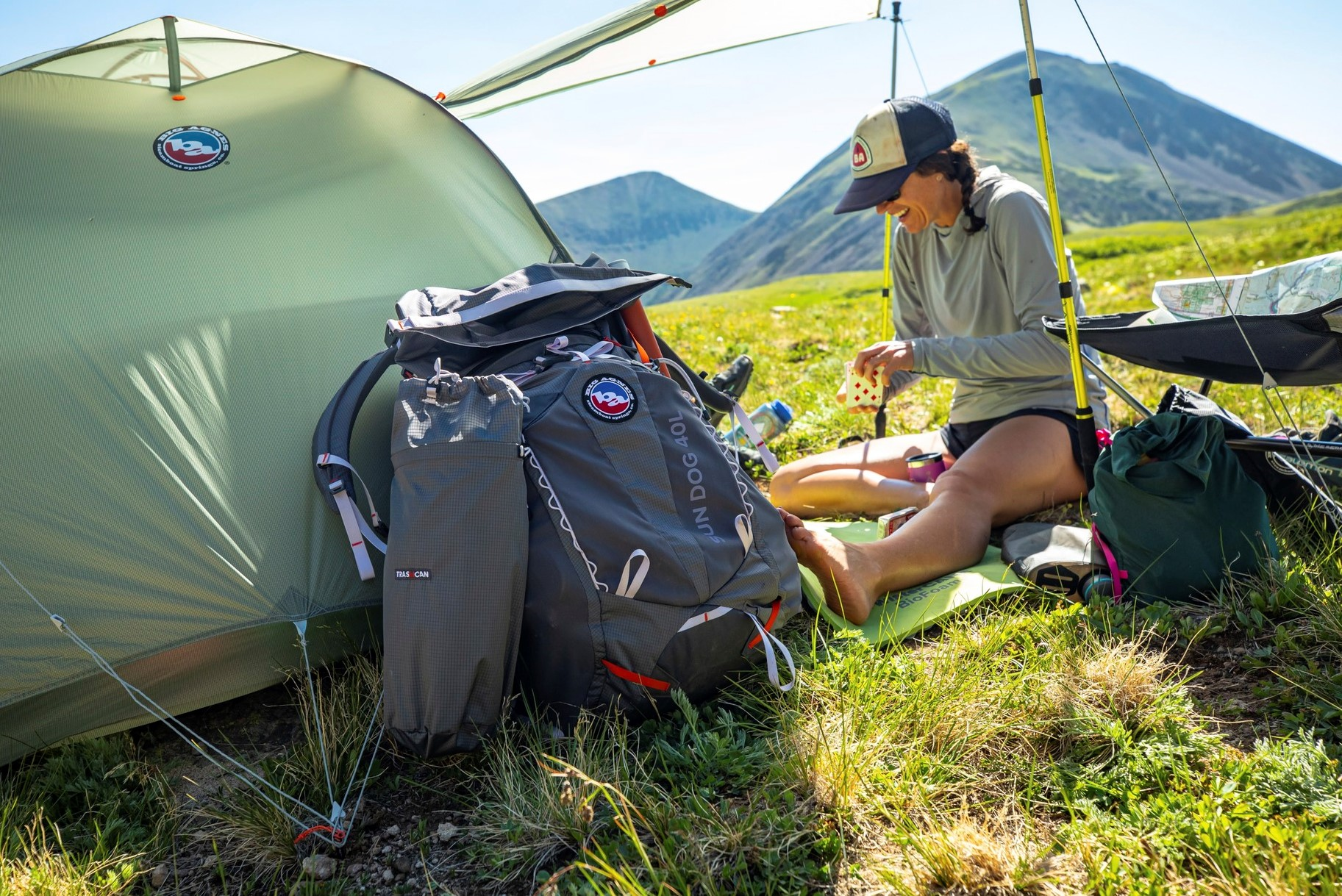 big agnes backpacks and tents