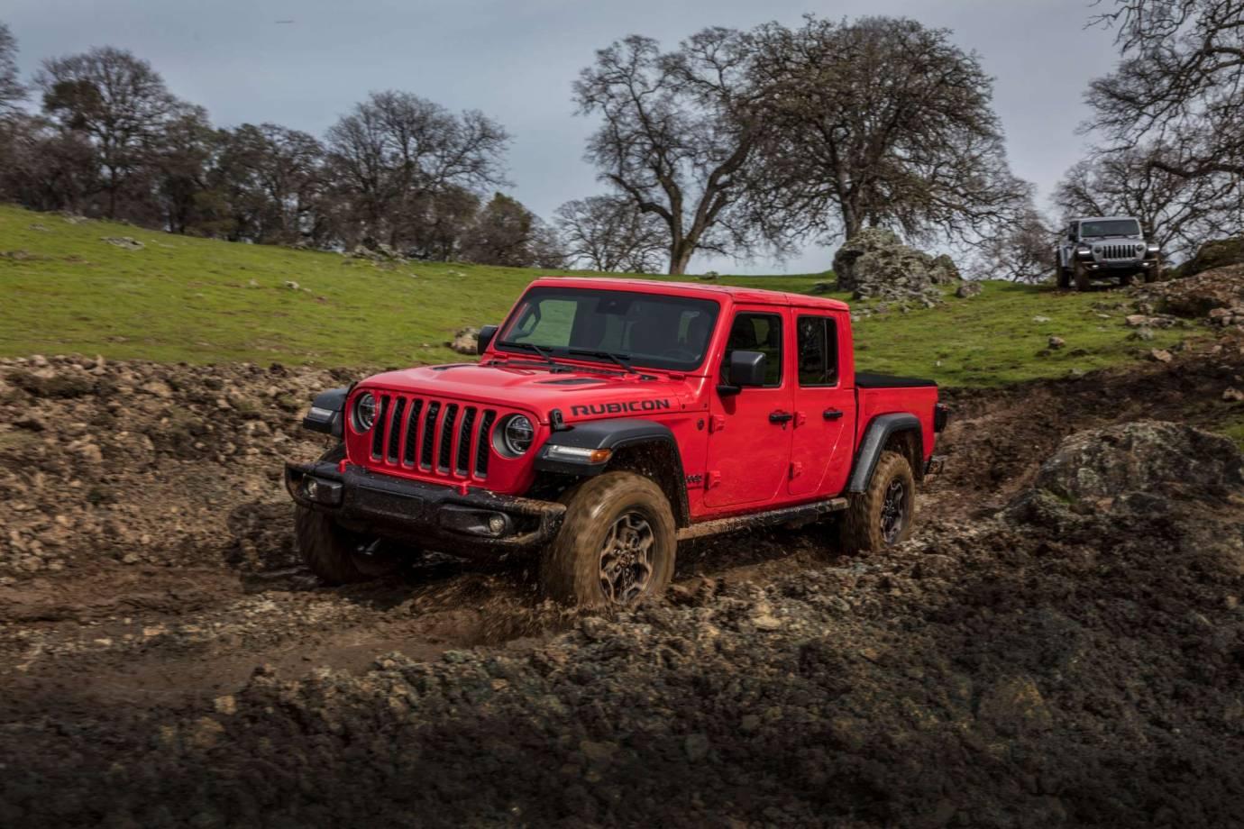 4wd vs awd: 4wd jeep gladiator