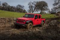 4x4 vs tracción total: Jeep Gladiator 4x4