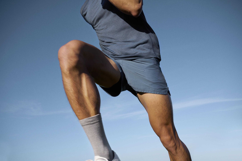 Allbirds run tee and shorts