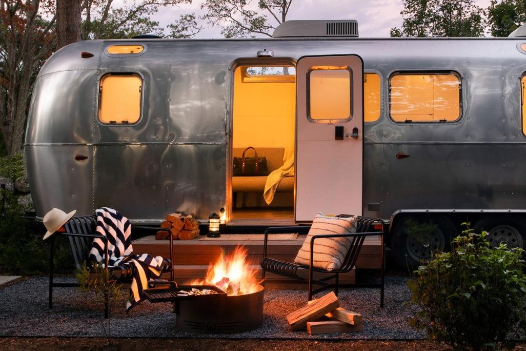 Campamento de automóviles de Cape Cod