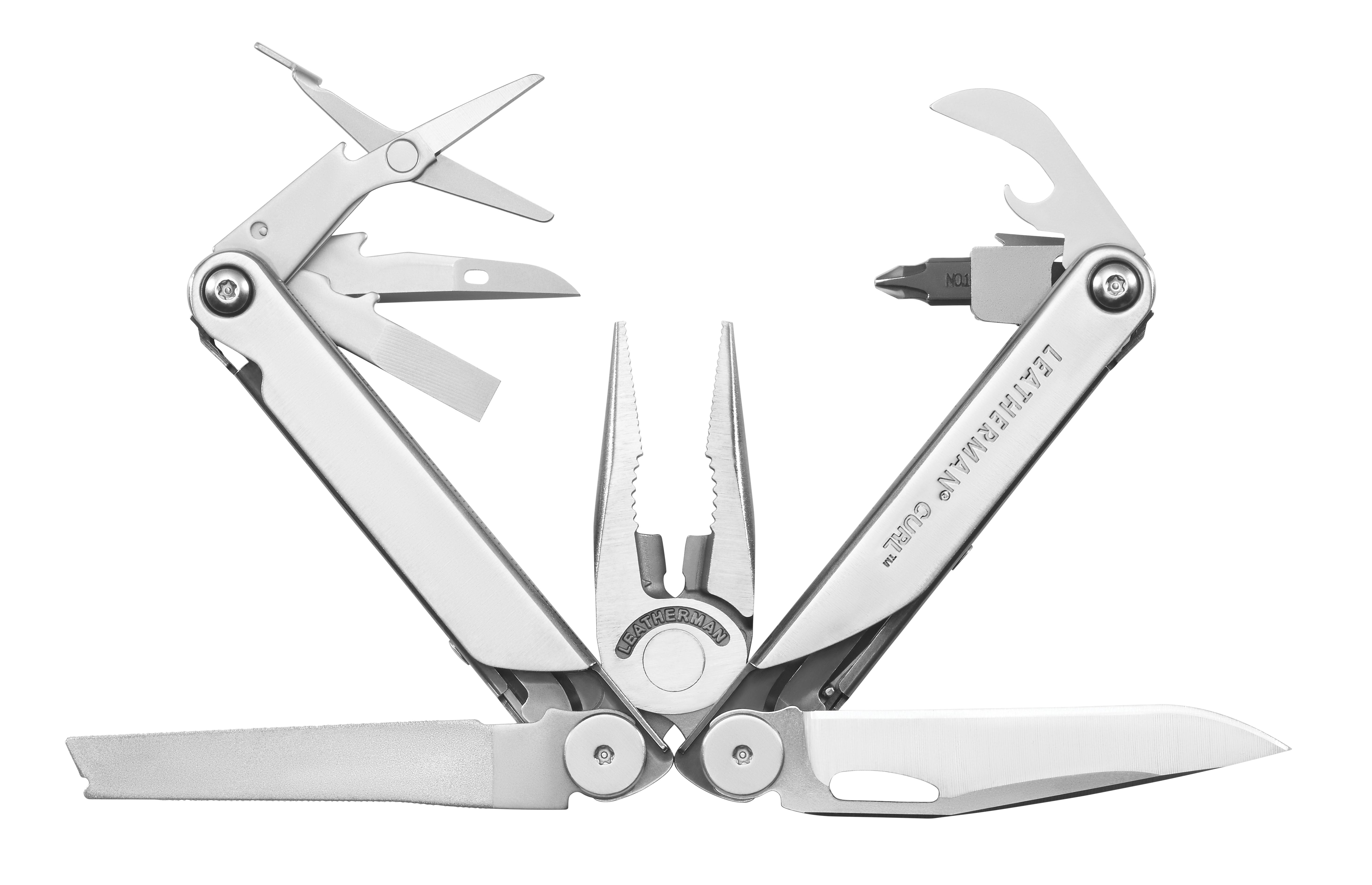 Leatherman The Curl multitool - full toolkit