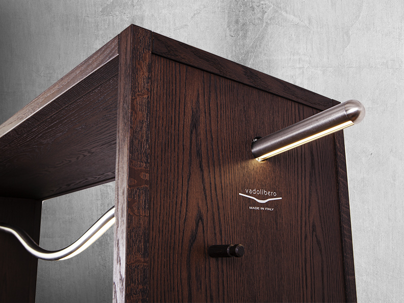 vadolibero domus r3 handlebar bike storage cabinet