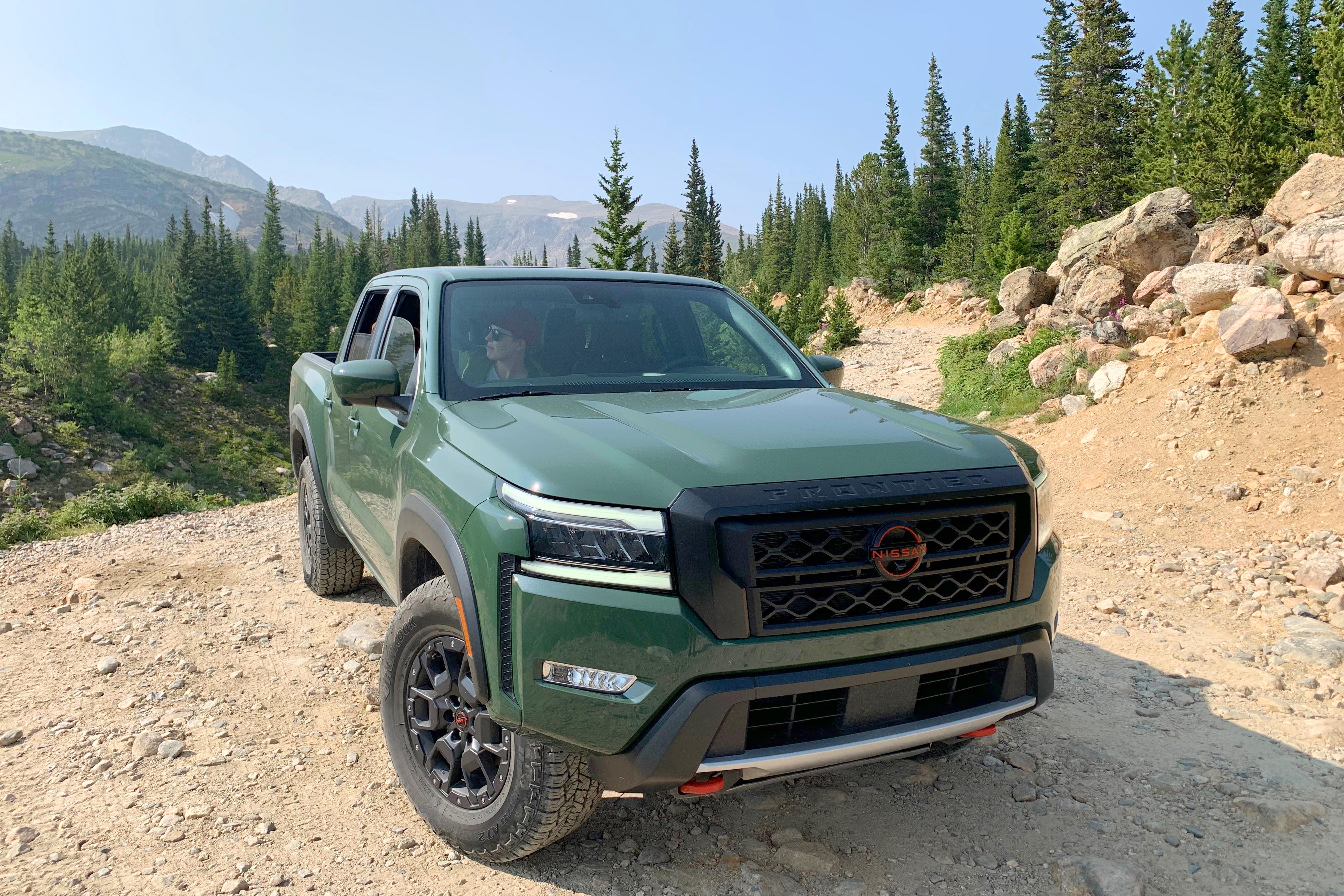 2022 Nissan Frontier pickup truck