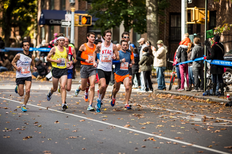 NYC Marathon Running Race