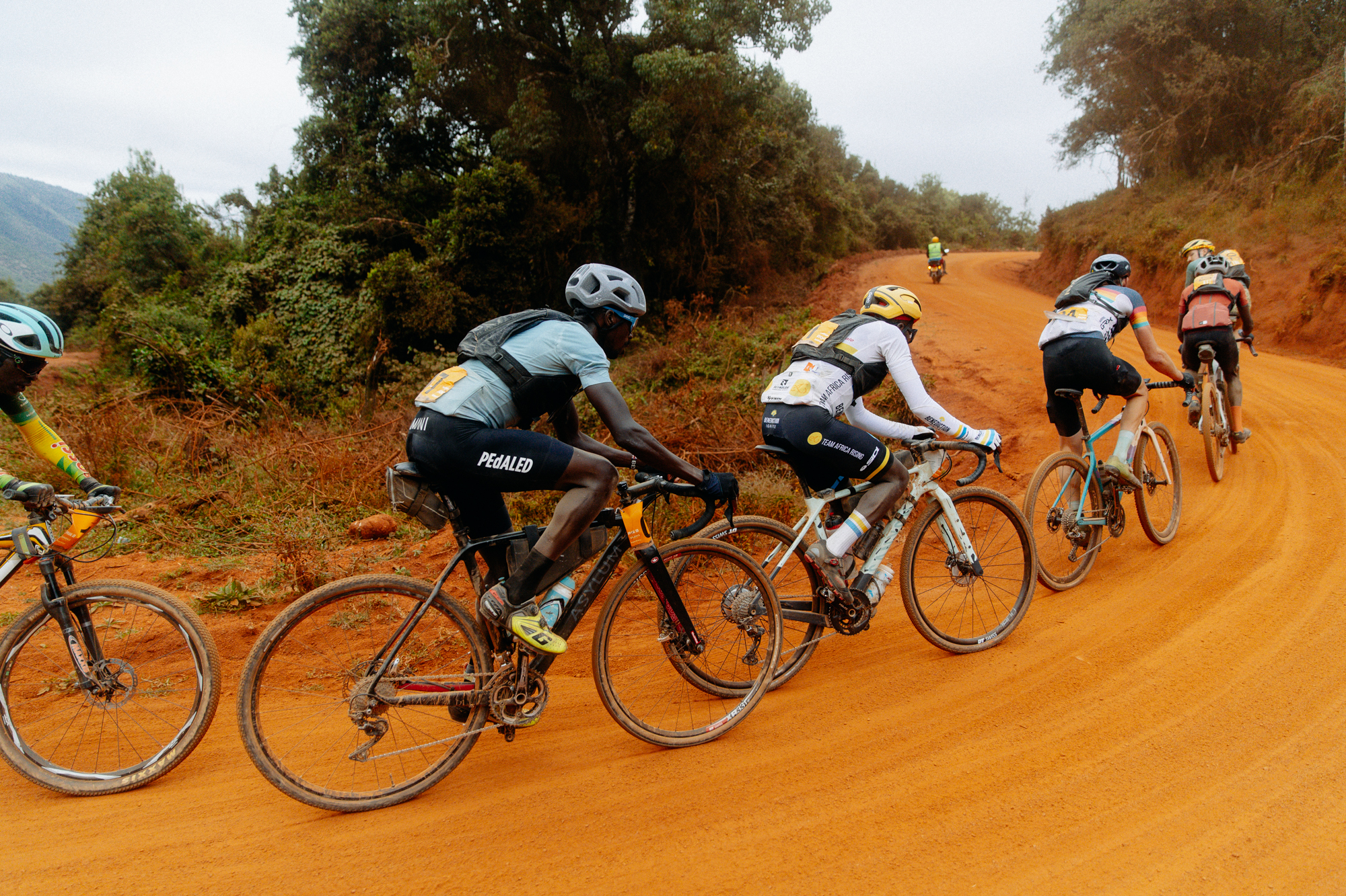 Wahoo Sports, Team AMANI Announce Special East African Team to Race on US Gravel