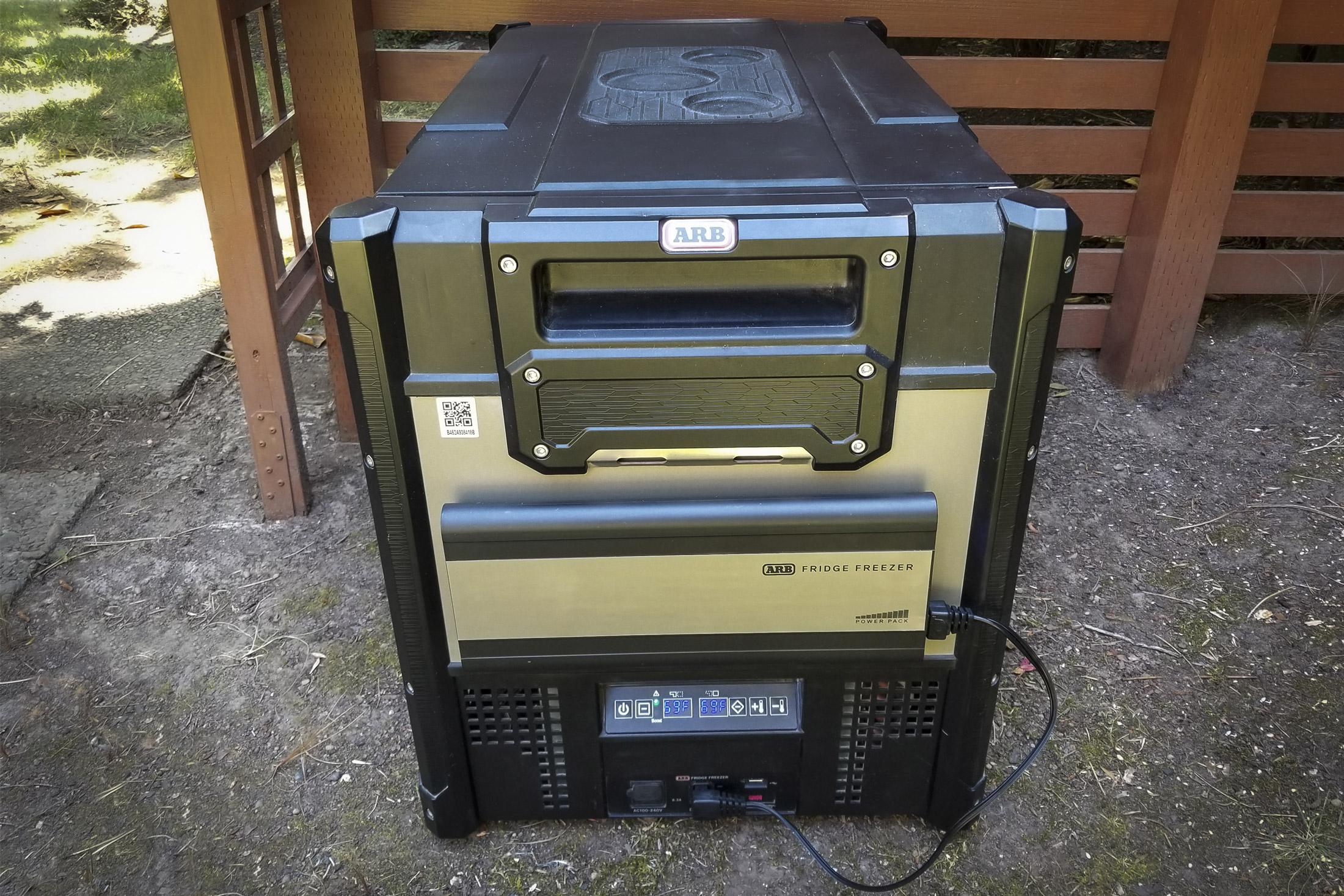 arb power pack on zero fridge
