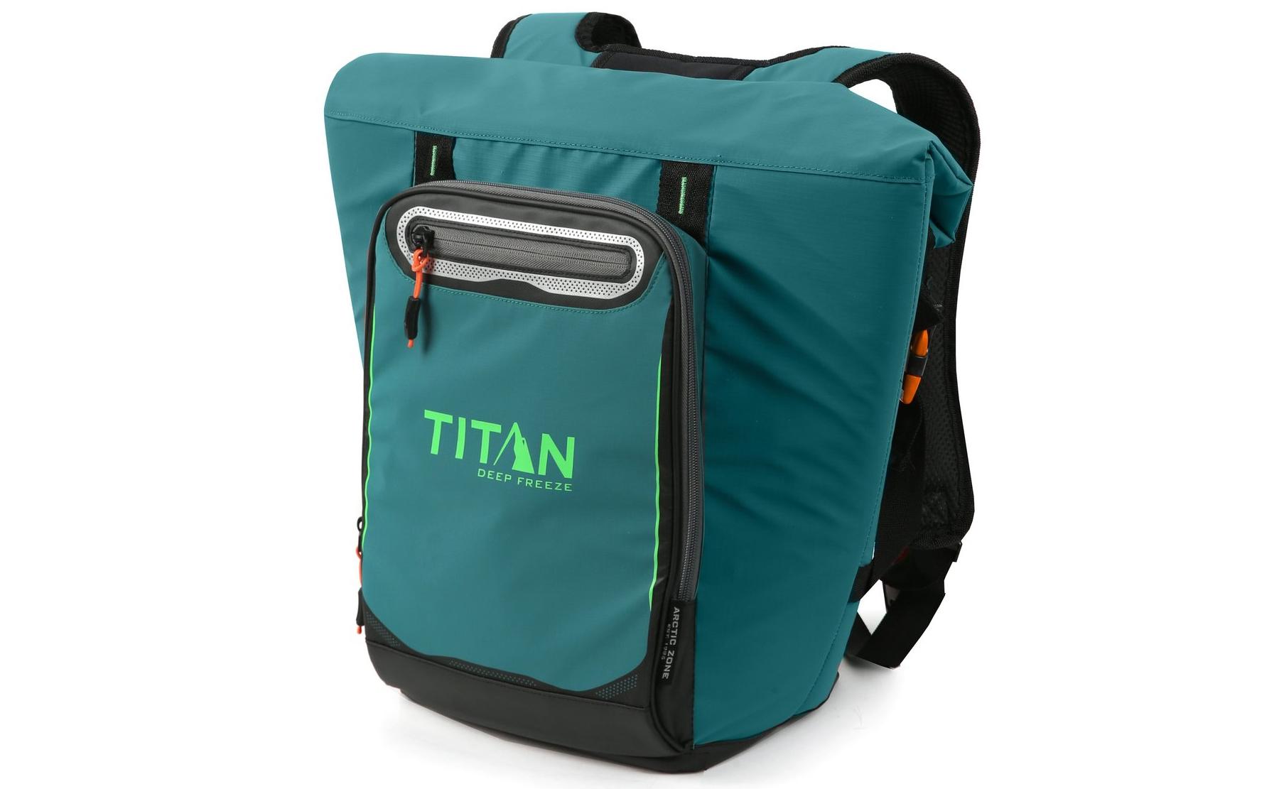 arctic zone titan deep freeze rolltop backpack cooler