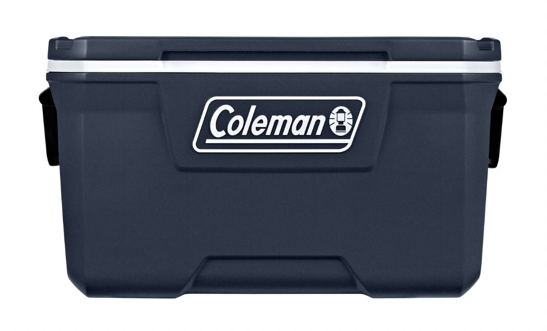 coleman 316 series navy blue 70 quart cooler
