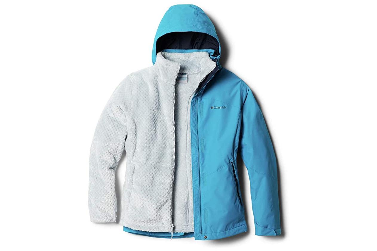 columbia bugaboo ii fleece 3-in-1 interchange jacket