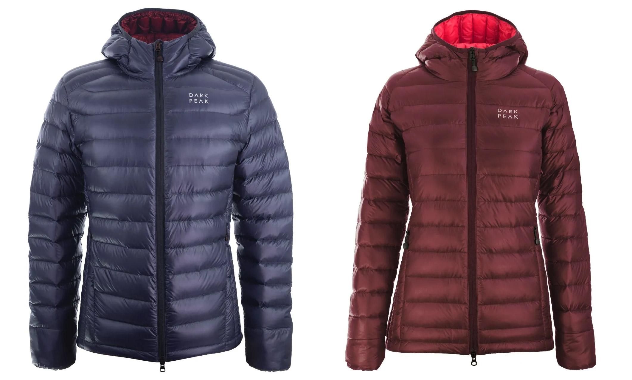 dark peak nessh down jacket