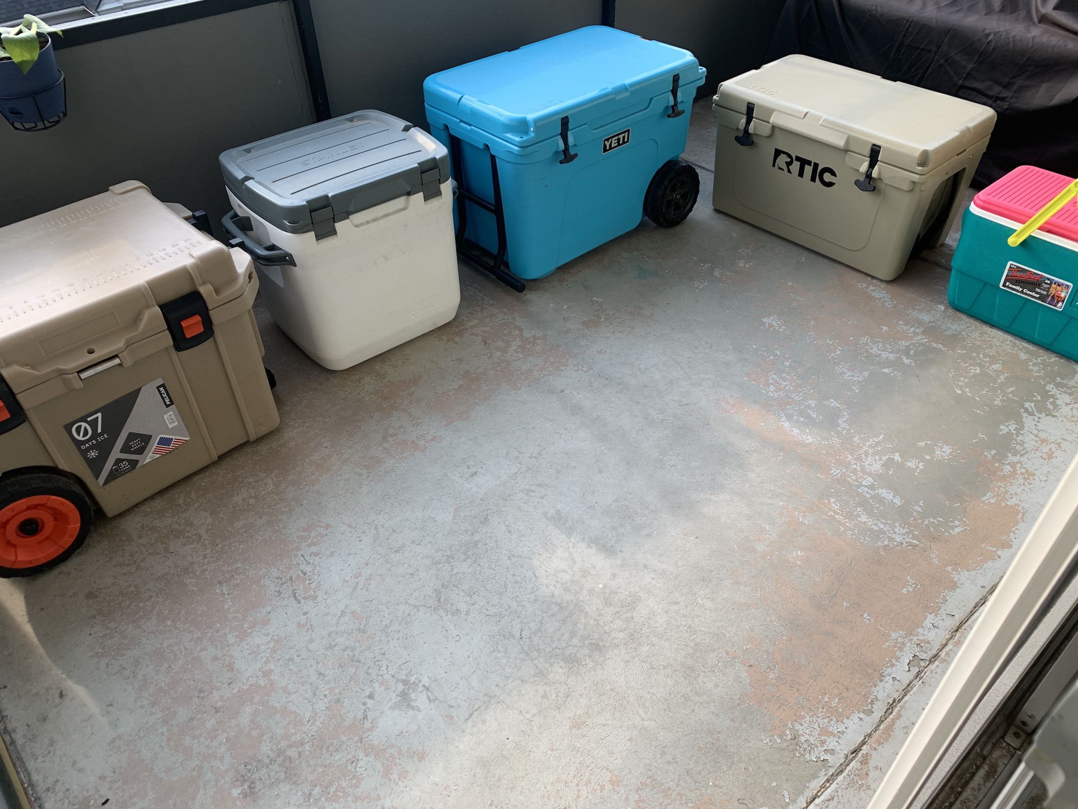 all coolers in testing