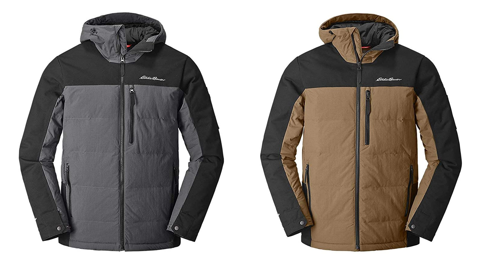 eddie bauer mountain ops down hooded jacket