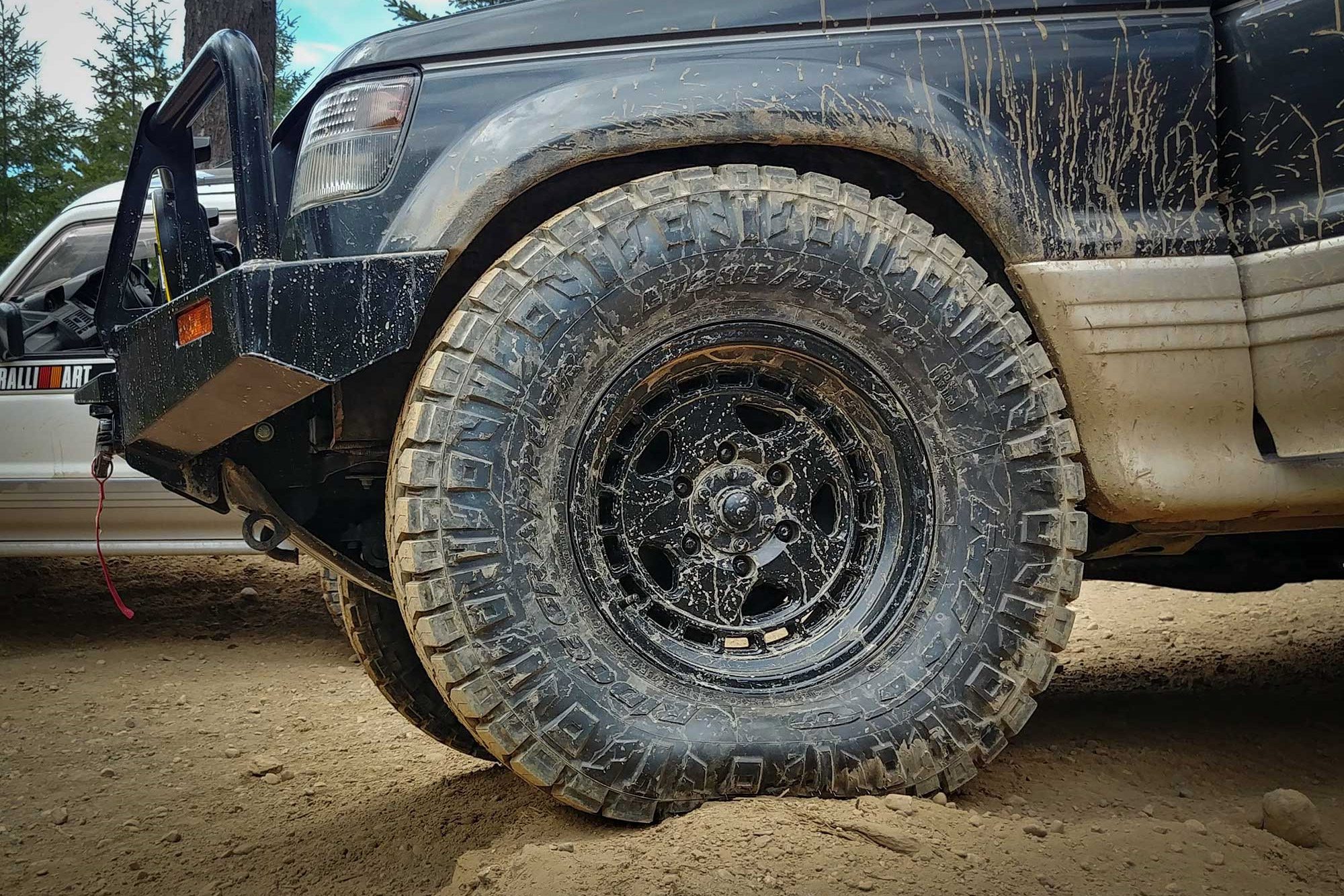 how to off-road - check your tire pressure