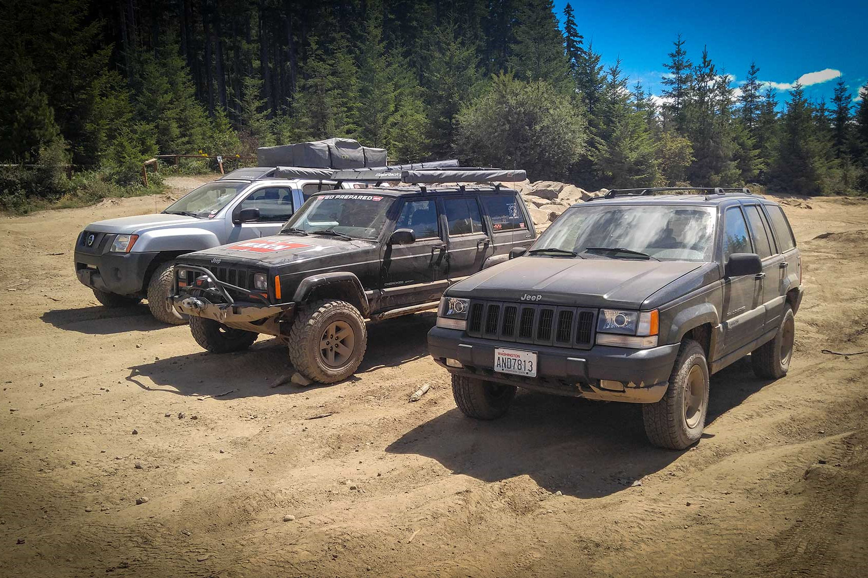 how to off-road - don't go alone