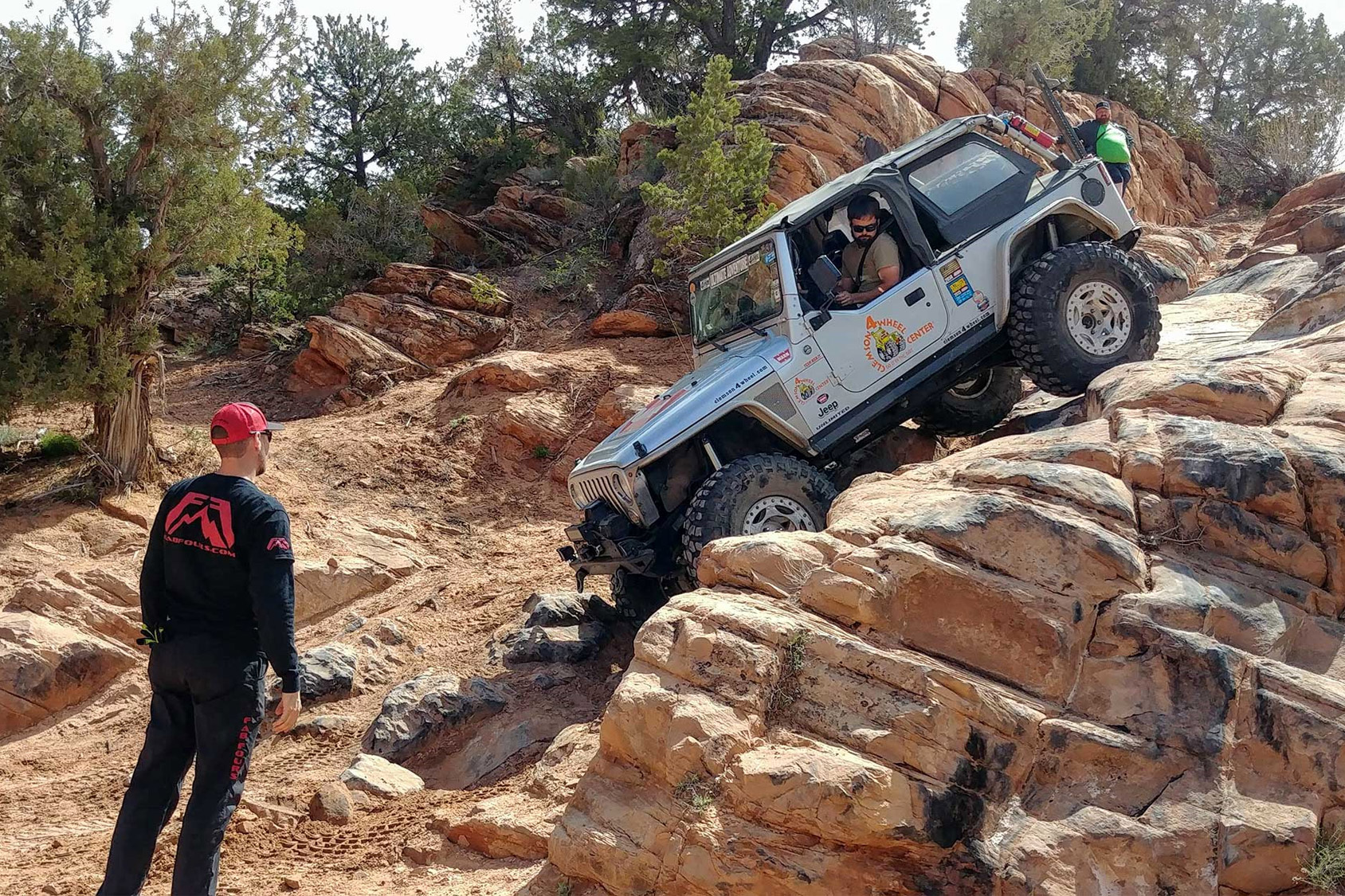how to off-road - don't start on difficult trails