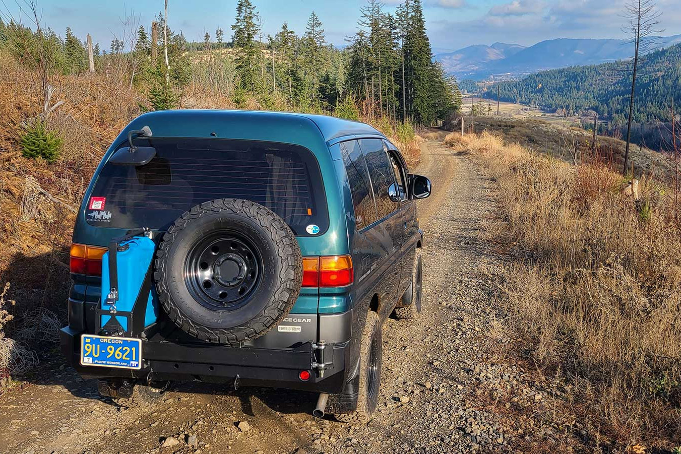 how to off-road - stay on trail