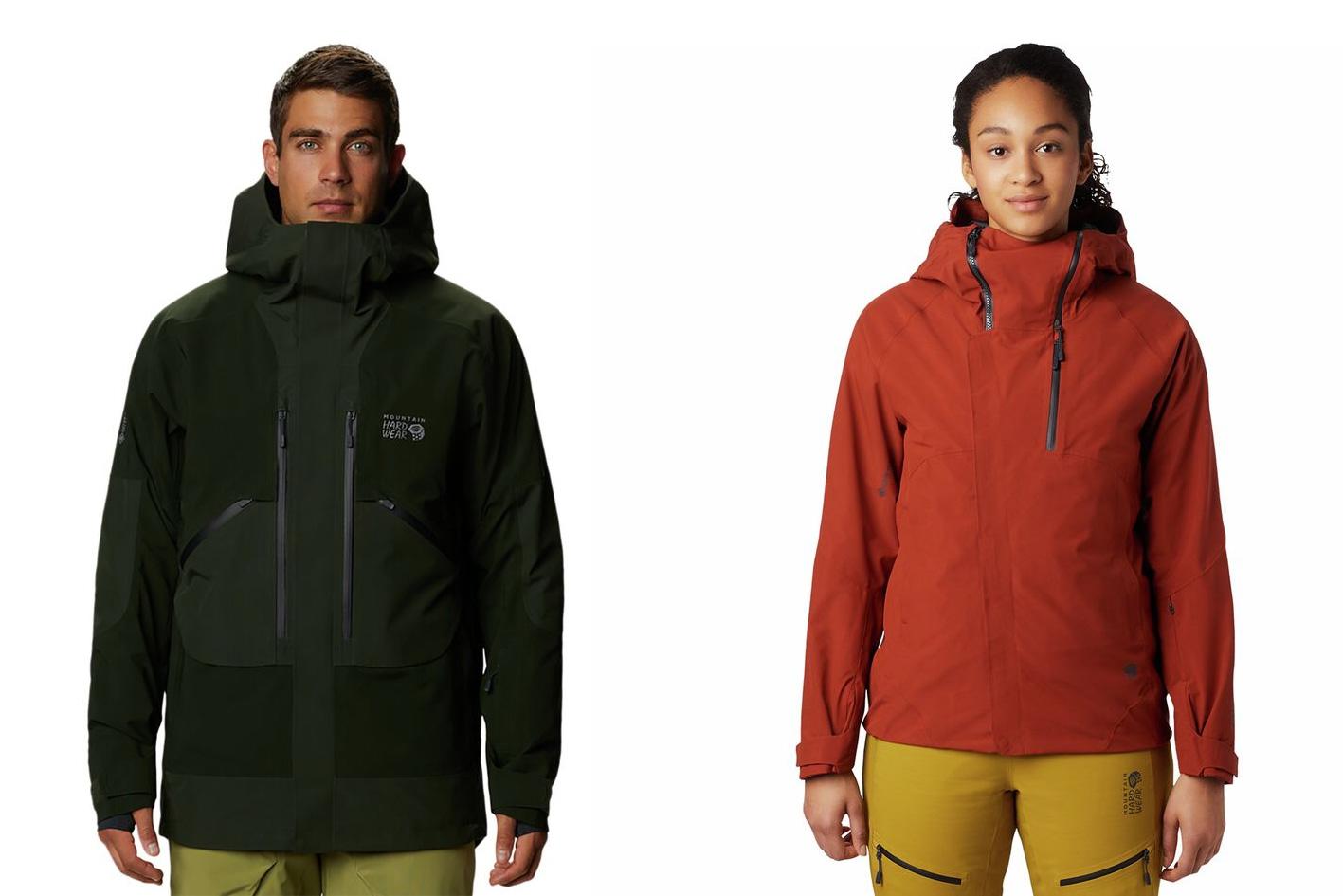 mountain hardwear cloud bank gore-tex insulated jackets